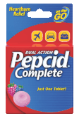 pepcid complete on-the-go product package